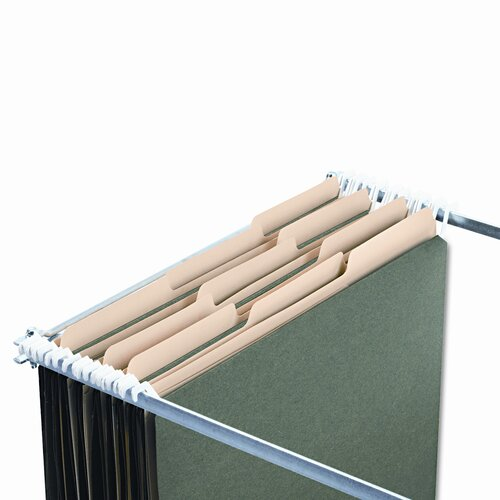 Ideastream Products Find It Hanging File Folders with Innovative Top Rai, 20/Pack