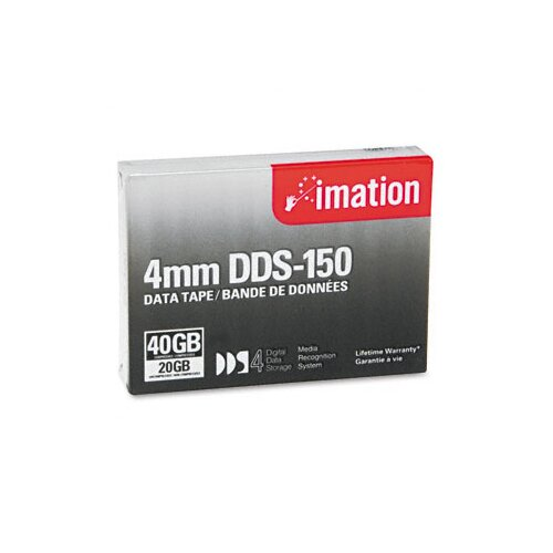 Imation 40963 DDS-4 Cartridge Compressed Capacity