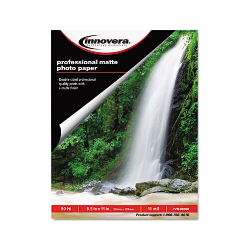 Innovera® Heavyweight Photo Paper, 50 Sheets/Pack