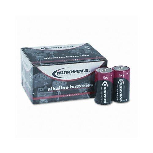 Innovera® Alkaline Battery, C, 12/Pack