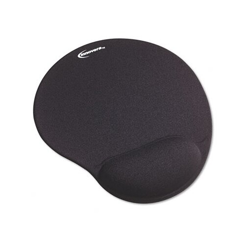 Innovera® Innovera® Fabric Covered Wrist Support Mouse Pad With Wrist Rest