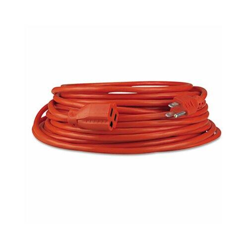 Innovera® Indoor/Outdoor Extension Cord, 25 Feet