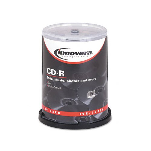 Innovera® CD-R Disc, 100/Pack