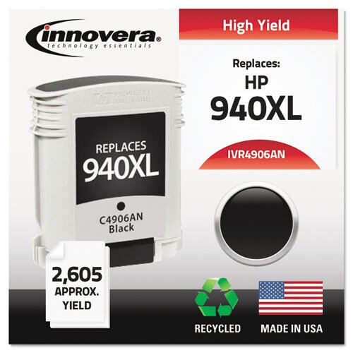 Innovera® 940XL Black Toner
