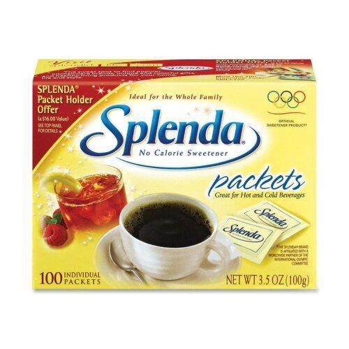 Johnson & Johnson Splenda Sugar Substitute, 1.0g, 100 per Box