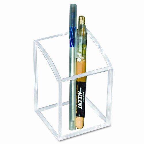 Kantek Pencil Cup, 2 3/4 X 2 3/4 X 4