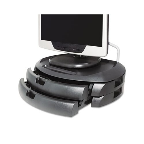 Kantek LCD Monitor Stand with 2 Drawers