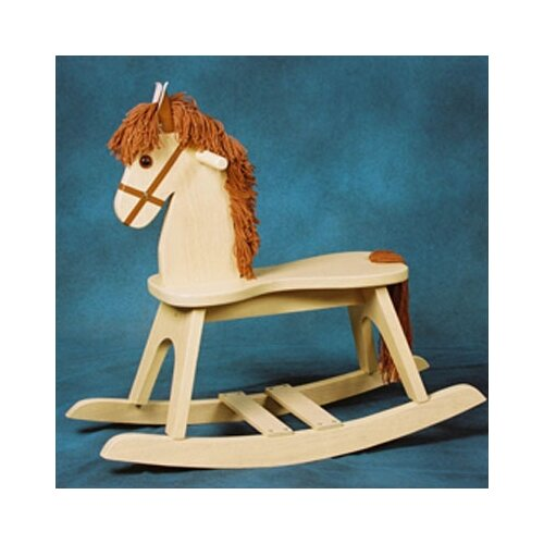 Storkcraft PlayTyme Child's Rocking Horse in Natural