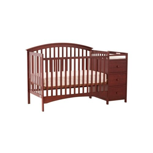 Storkcraft Bradford Fixed Side Convertible Crib and Changer