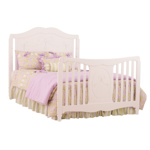 Storkcraft Princess Fixed Side 4-in-1 Convertible Crib