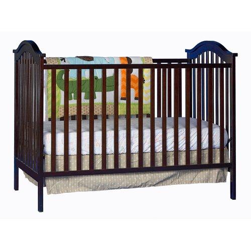 Hampton 2-in-1 Fixed Side Convertible Crib