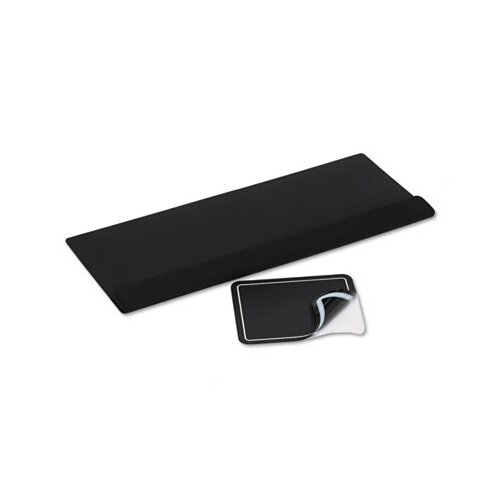 Kelly Computer Supply Kelly Computer Supply Viscoflex Extended Keyboard Wrist Rest, Black