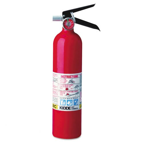 Kidde Fire and Safety Proline Pro 2.5 Multi-Purpose Dry Chemical Fire Extinguisher