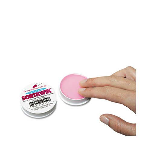 Lee Products Company Sortkwik Fingertip Moisteners, 3/8 Oz