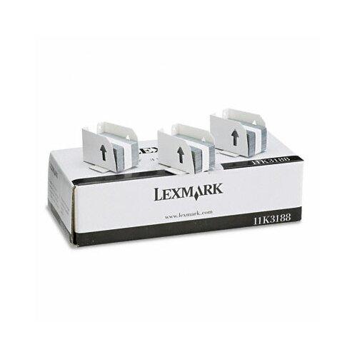 Lexmark International Standard Staples for Lexmark T620, Three Cartridges, 15,000 Staples per Box