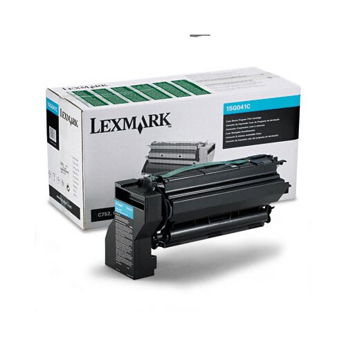 Lexmark International 15G041C Toner Cartridge, 6000 Page-Yield