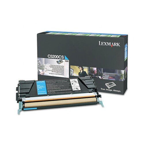 Lexmark International C5200CS Toner Cartridge, 1500 Page-Yield