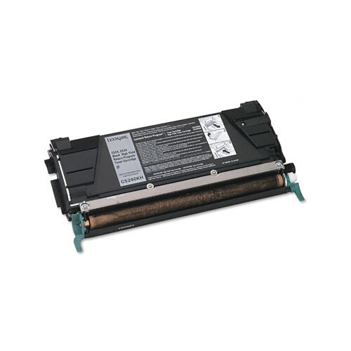 Lexmark International C5240KH High-Yield Toner, 8000 Page-Yield
