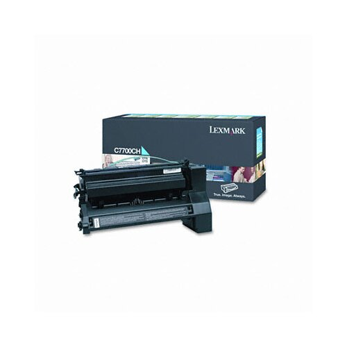 Lexmark International C7700CH High-Yield Toner, 10000 Page-Yield