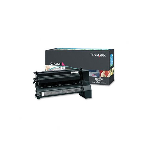 Lexmark International C7700MH High-Yield Toner, 10000 Page-Yield