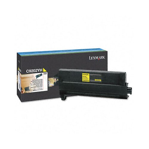Lexmark International C9202YH Toner Cartridge, 14000 Page-Yield