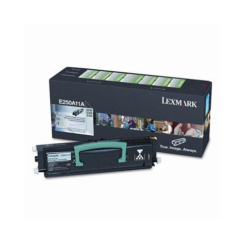 Lexmark International E250A11A Toner Cartridge, 3500 Page-Yield