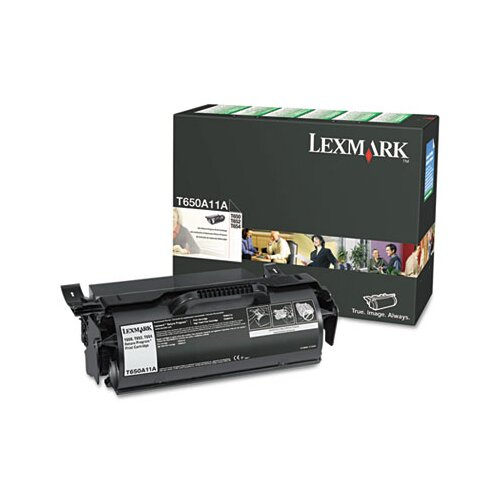 Lexmark International T650A11A Toner, Black