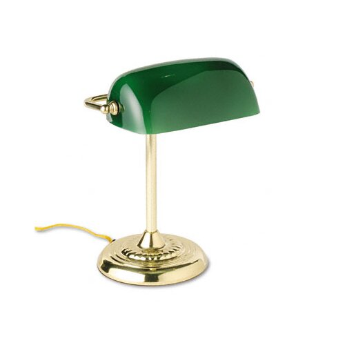 "Ledu Corporation Traditional Banker's 14"" H Table Lamp"