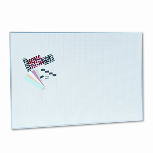 Magna Visual, Inc. Magnetic Work/Plan Kit 4' x 6' Whiteboard