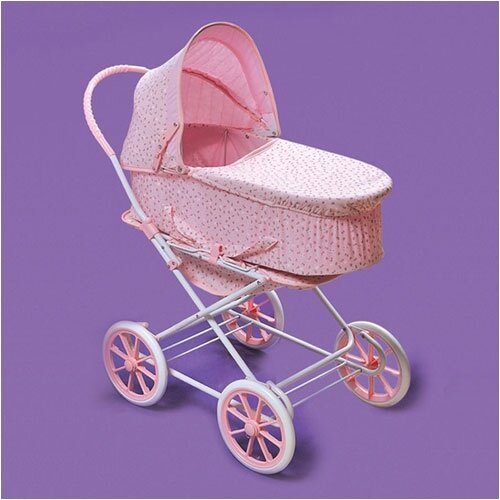Badger Basket Just Like Mommy 3-in-1 Doll Pram Stroller