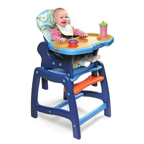 Badger Basket Envee High Chair with Play Table