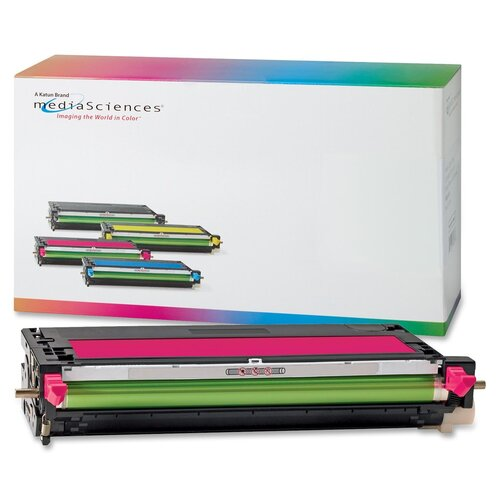 Media Sciences® Toner Cartridge, 4,000 Page Yield, Magenta