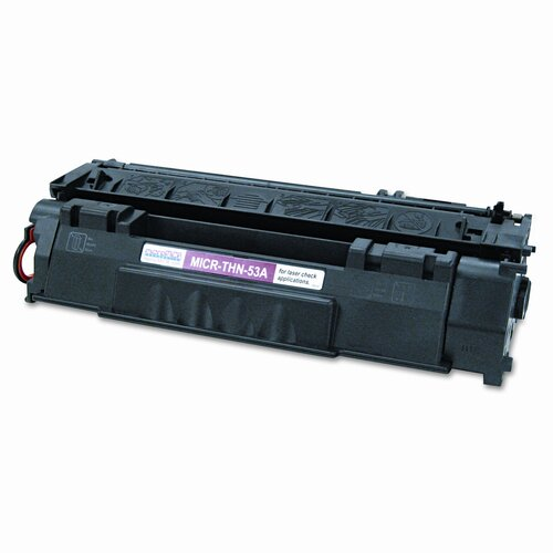 MicroMICR Corporation MICR Toner for LJ P2015, Equivalent to HEW-Q7553A