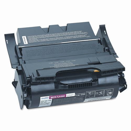 MicroMICR Corporation MICR Toner for T640, T642, T644, Equivalent to LEX-64015HA