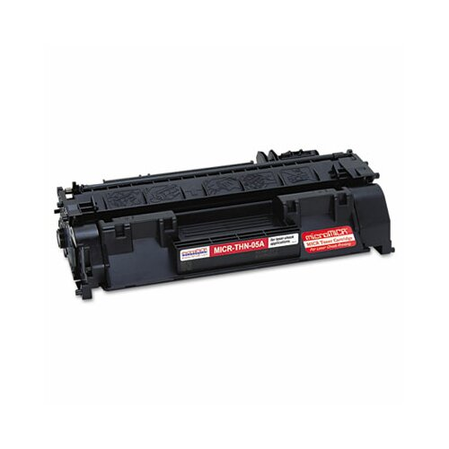 MicroMICR Corporation MICRTHN05A Compatible MICR Toner, 2300 Page-Yield, Black