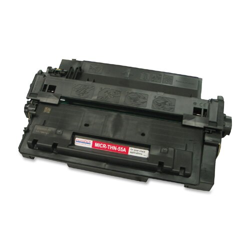 MicroMICR Corporation MICRTHN55A Compatible Toner, 6,000 Page Yield, Black