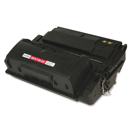 MicroMICR Corporation Toner Cartridge, 20,000 Page Yield, Black
