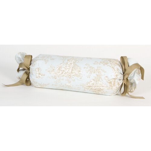 Central Park Toile Roll Pillow