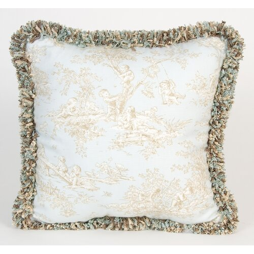 Glenna Jean Central Park Toile Pillow