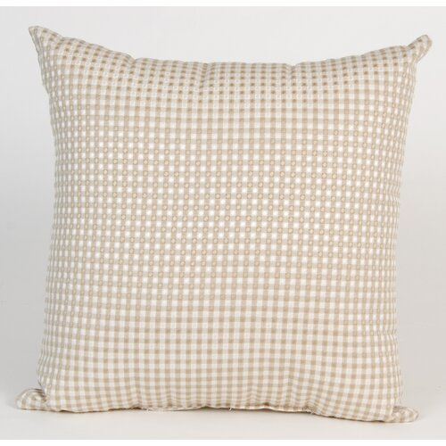 Central Park Check Pillow