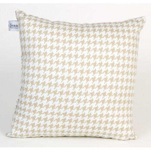 Glenna Jean Central Park Houndstooth Check Pillow