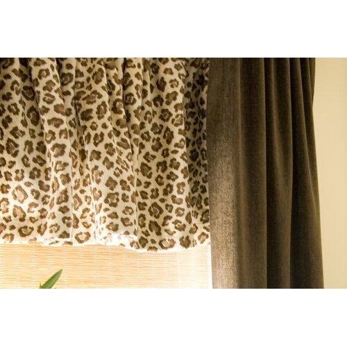 """Glenna Jean Tanzania 70"""" Curtain Valance"""
