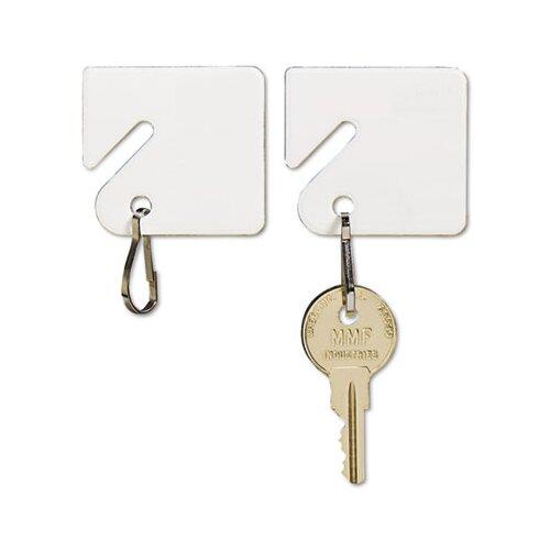 MMF Industries Steelmaster Slotted Rack Key Tags, Plastic, 20/Pack