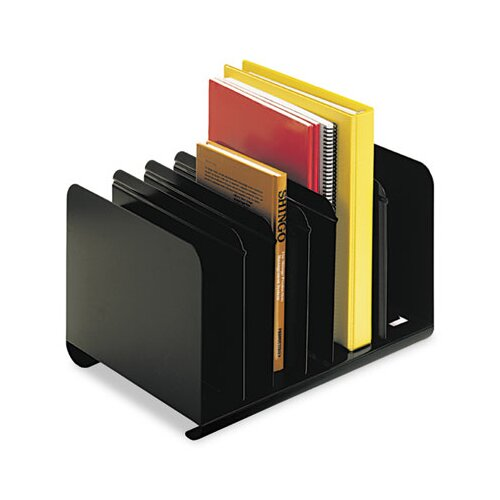 MMF Industries Steelmaster Six-Section Adjustable Book Rack