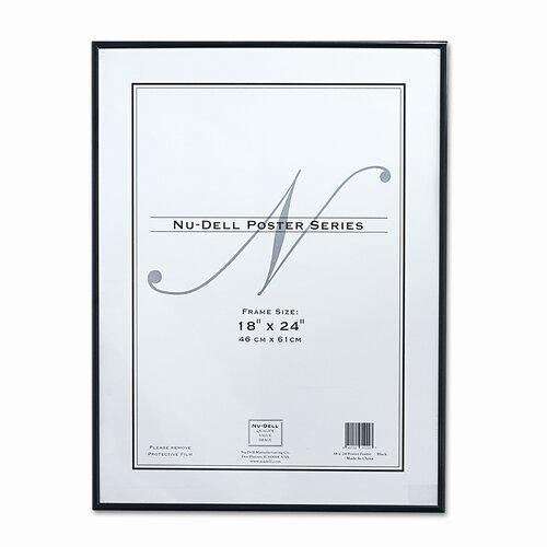 Nudell Plastics Metal Poster Frame, Plastic Face