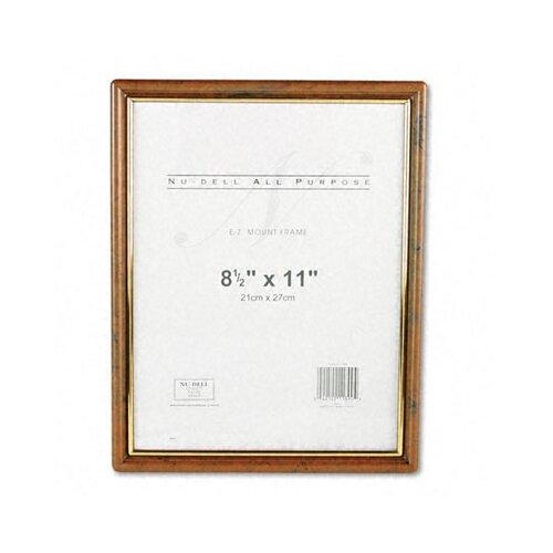 Nudell Plastics Ez Mount Document Frame
