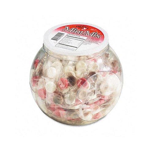 Office Snax Sugar-Free Mint Mix, 375/Jar