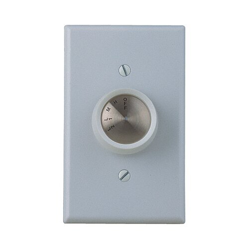 Craftmade Four Speed Ceiling Fan Wall Control