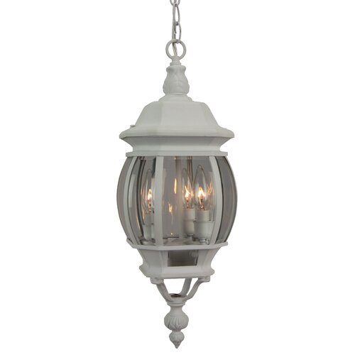 Craftmade Cast Aluminum 3 Light Hanging Lantern Pendant