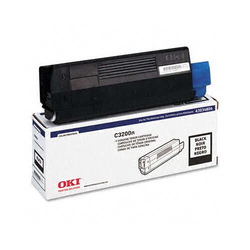 43034804 Toner Cartridge, Black